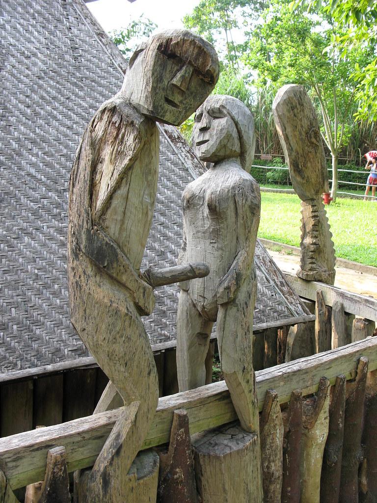 Ancient Porn | Museum of Ethnology Hanoi,Vietnam