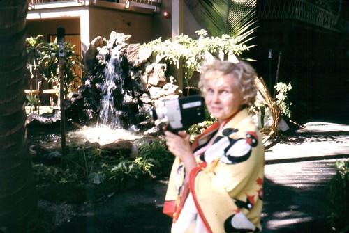 1969 Edith Gronhovd in Hawaii