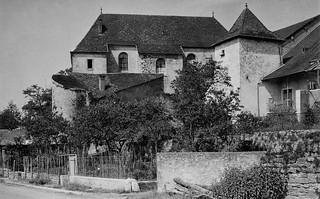 Le couvent des Bernardines à Orgelet