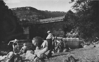 La plage du pont de la Pyle