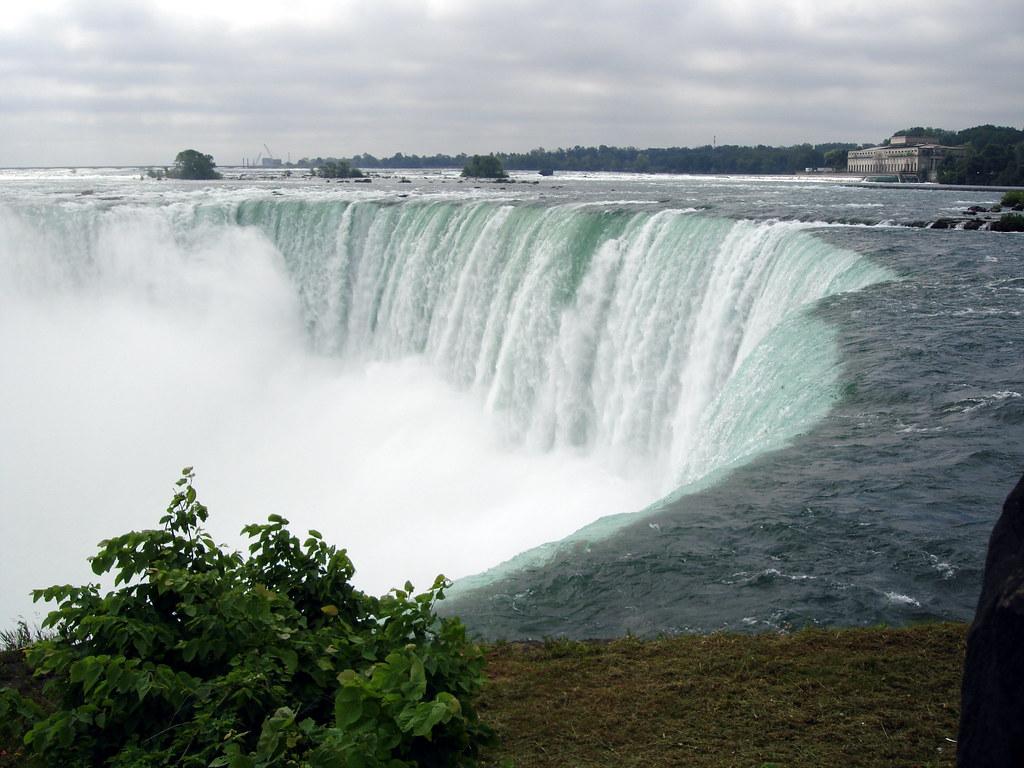 Niagara Falls Canada The Horseshoe Falls Taken From The