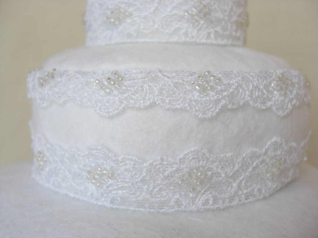 Wedding Cake Softie (lace)