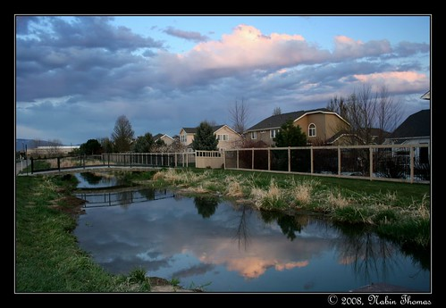 sunset house water reflections landscape bridges boise blueribbonwinner flickrsbest anawesomeshot
