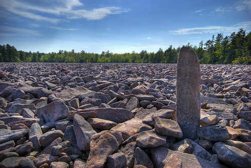statepark usa landscape geotagged rocks pennsylvania pa boulders poconos hdr pocono boulderfield 3xp hickoryrun nationallandmark