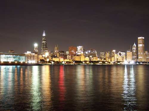 Chicago Skyline at Night | by philontheweb2001
