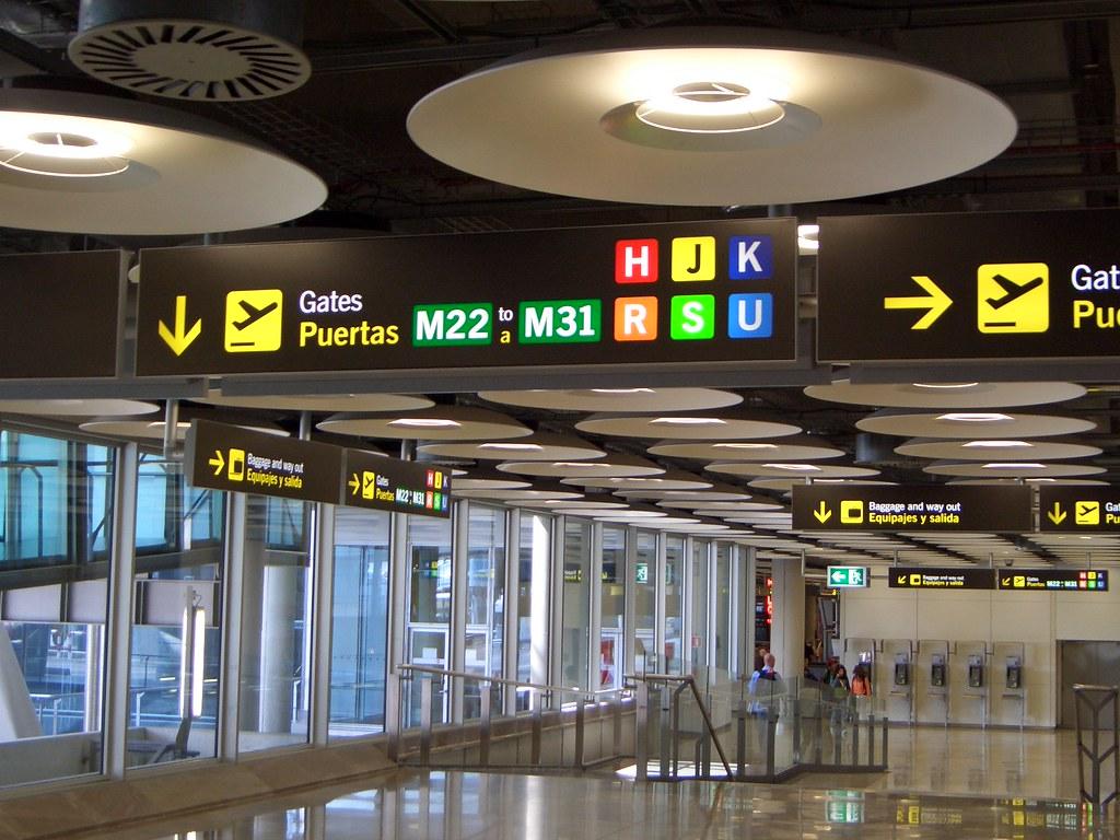 Barajas Airport Hallway