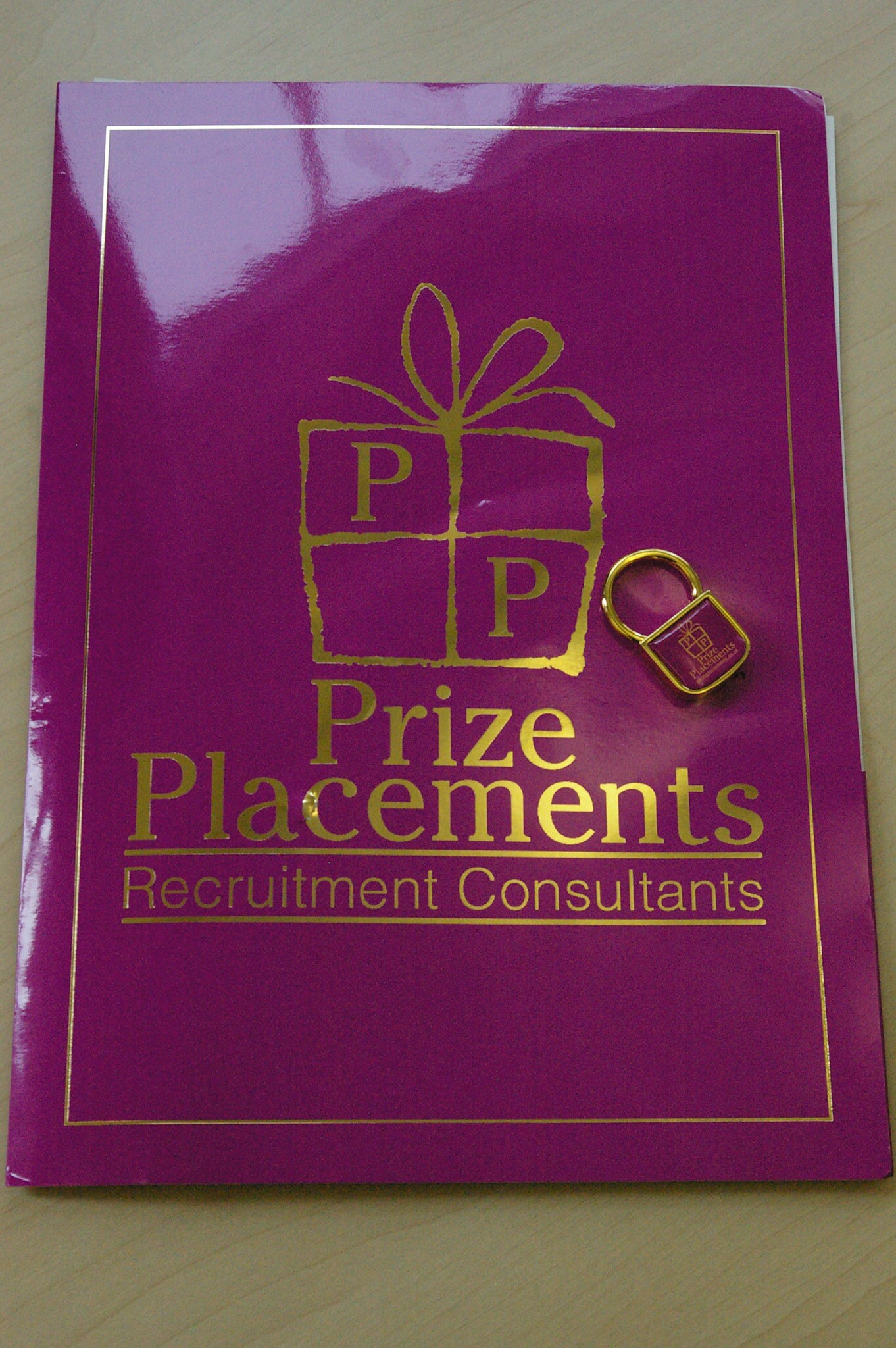 Prize Placements - lousy graphic design