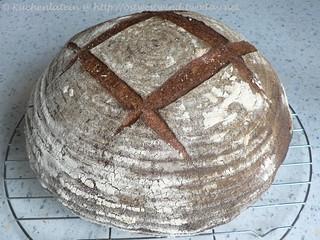 Poilâne-style bread nach Peter Reinhart