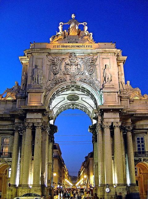 Arco do Triunfo da Rua Augusta - Lisboa  (Portugal)