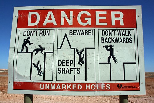 Danger! No Walking Backwards | by kleinmatt66