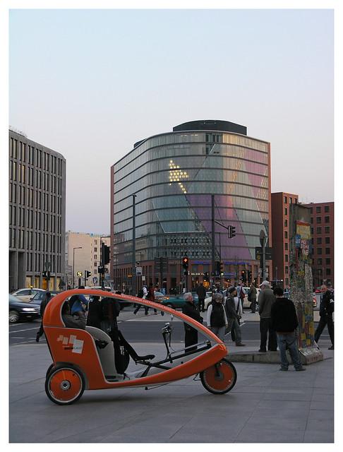 Sci-fi scene from Berlin