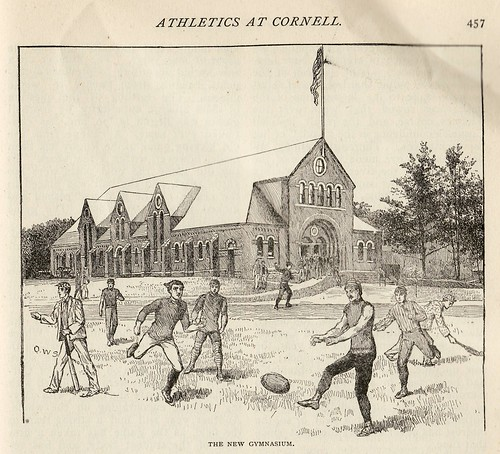 Athletics at Cornell 1890 | by Frederic Humbert (www.rugby-pioneers.com)
