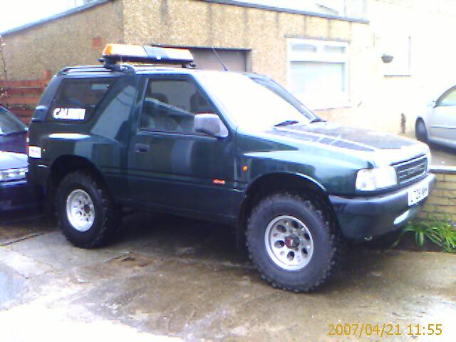 Vauxhall Frontera with 3