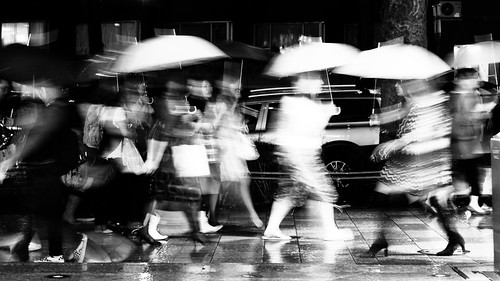 It was dark and raining, so everything is a little bit blurred... by manganite