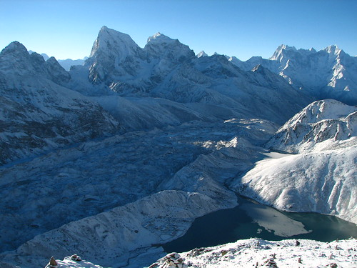 Nepal - Sagamartha Trek - 096 - Gokyo and Ngozumpa Gl in sunrise | by mckaysavage