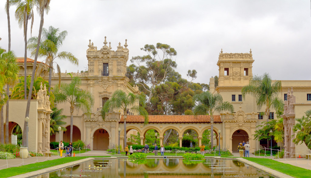 Panorama Of Spanish Colonial Architecture Balboa Park S Flickr
