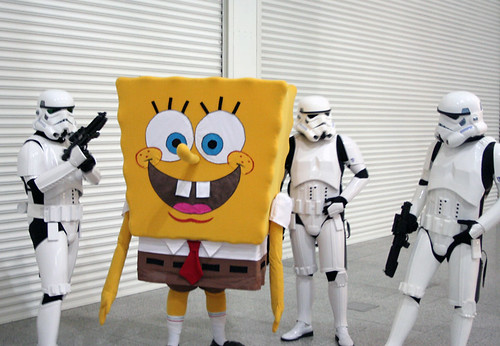 Stormtroopers and Spongebob | by mttch