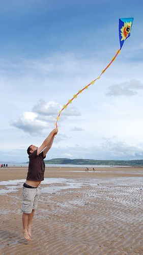 First rule of kite flying...