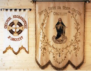 Bannières de procession d'Orgelet