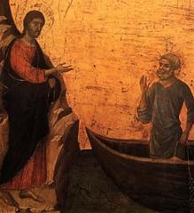 DUCCIO di Buoninsegna Calling of Apostles Peter and Andrew, 1308/1311 | by carulmare