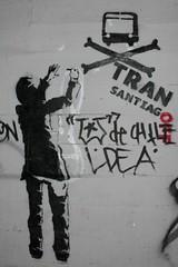 Stencil collage