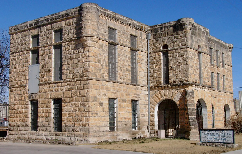 Old Comanche County Jail (Comanche, Texas) | Built in 1903 w