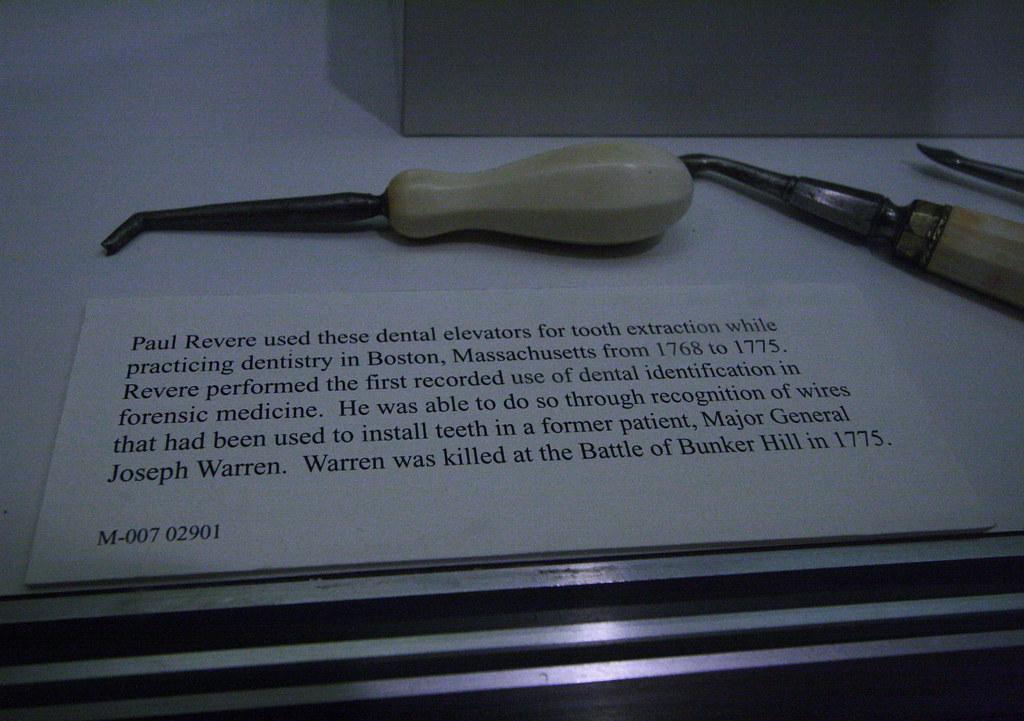 Paul Revere Dental Tools | Chris | Flickr