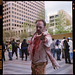Zombie attack! I forgot to get Mr. Zombie's name :(   Shot on Portra 400