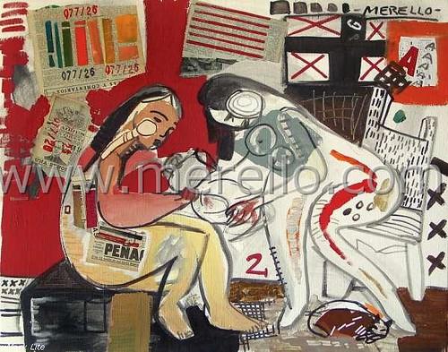 Art Moderne Espagnole Art Contemporain Peinture Espagnol