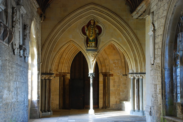 Chichester Cathedral cloisters (1)