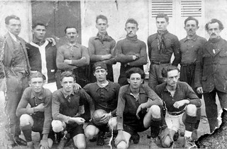 Football club orgeletain en 1937