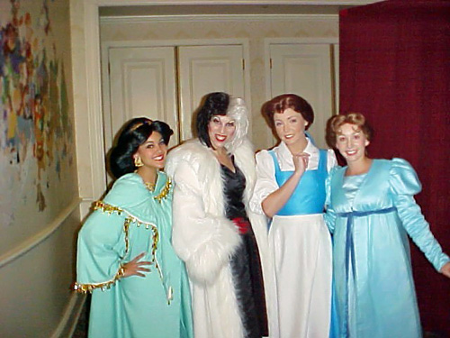 Jasmine, Cruella, Belle and Wendy | Town Square Exposition H