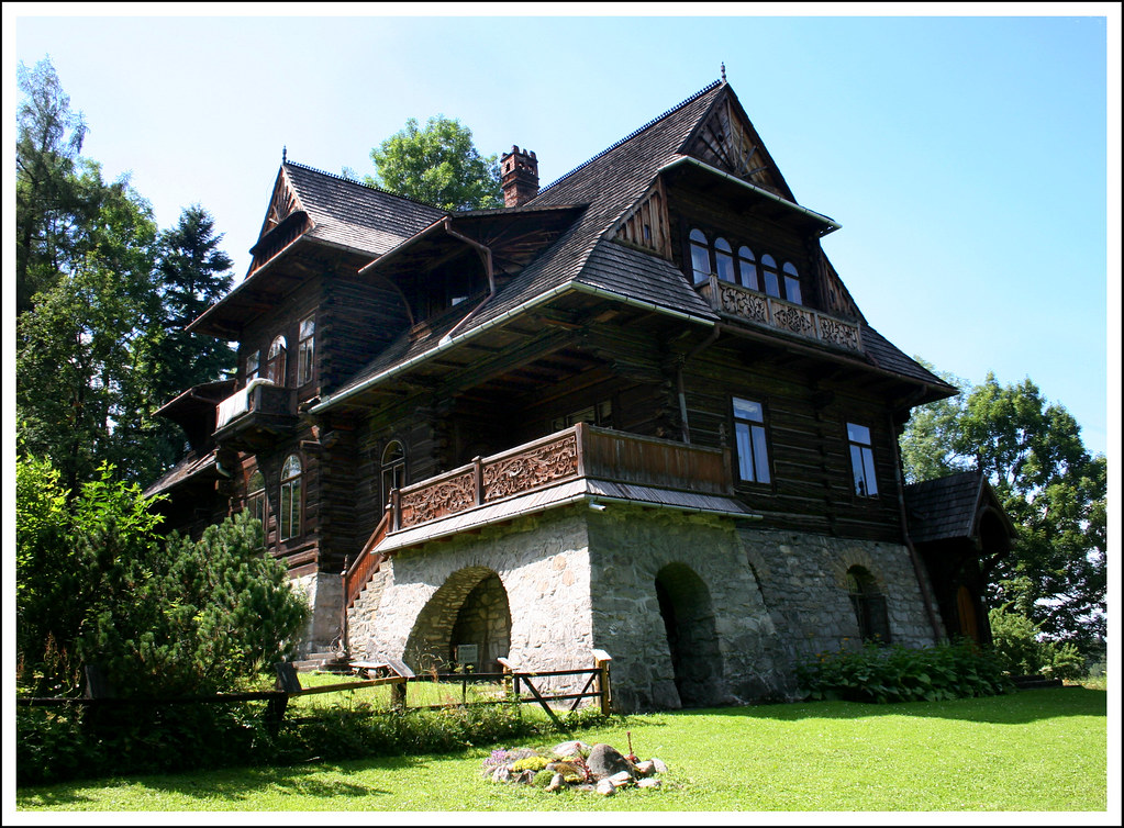 Zakopane Willa pod Jedlami - Stanislaw Witkiewicz design