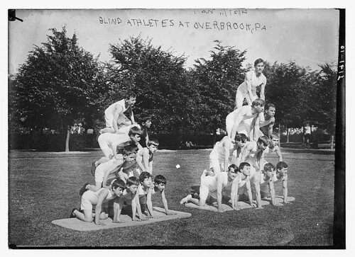Blind athletes at Overbrook, Pa.  (LOC) | by The Library of Congress
