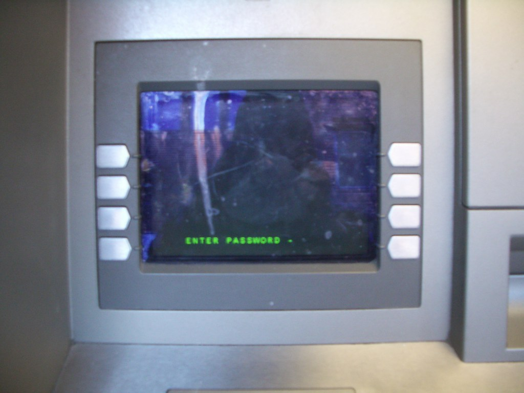 non-functional ATM