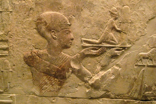 NYC - Metropolitan Museum of Art - Chapel for Ramesses I at Abydos - West Wall