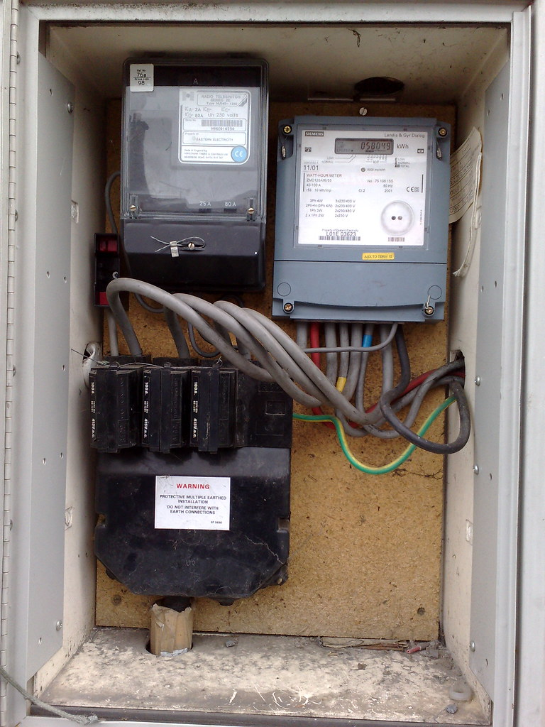 Fuse box and electricity meter | Was walking past this build… | FlickrFlickr