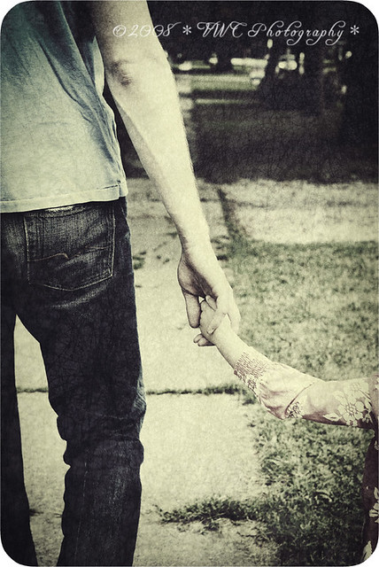 Basically, the only thing we need is a hand that rests on our own, that wishes it well, that sometimes guides us.