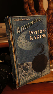 Harry Potter Advanced Potions book | by groundpig.geo