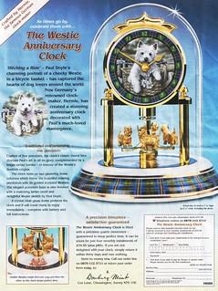 Westie Anniversary Clock | by muteboy