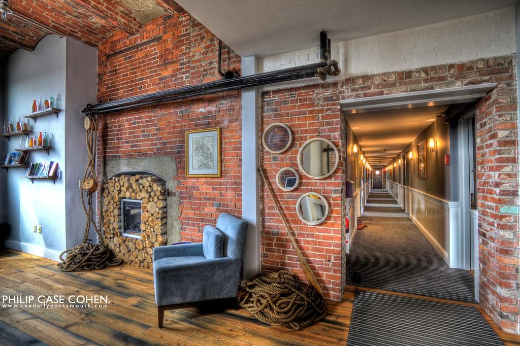 The Ale House Inn Lobby by Philip Case Cohen