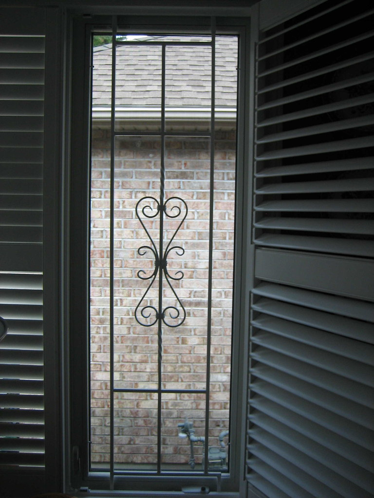 DECORATIVE WINDOW SECURITY BARS 2 | Robert Bobinac | Flickr