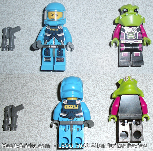 LEGO 7049 - Alien Conquest - Alien Striker Review | by Mostly Bricks