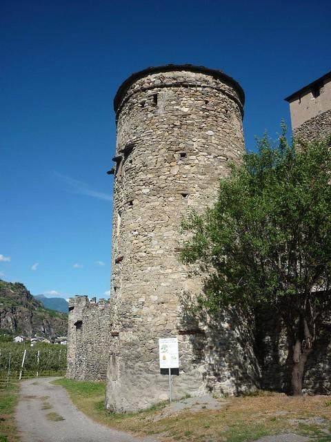 Castello Sarriod de la Tour (Valle d'Aosta, Saint-Pierre)