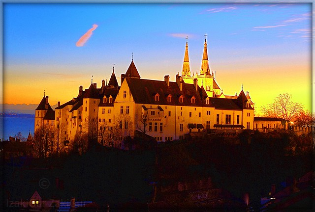 La Collégiale / Neuchâtel