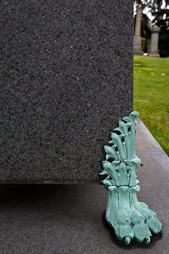 Gravestone foot | by mfeingol