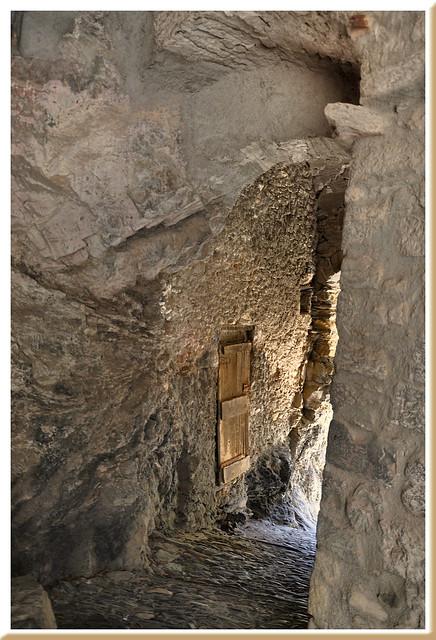 Passage secret - Triora (Ligurie) - Italie