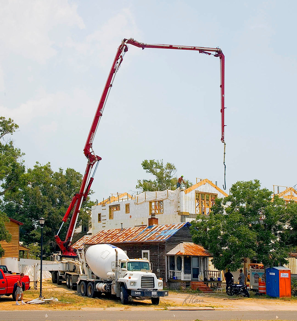 concrete pump | Concrete/residential construction: Schwing t