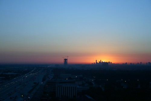 sunrise downtownhouston autumnmorning houstonist houstonmorning houstonsunrise
