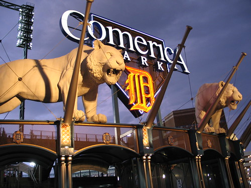 comerica sign | by Grangernite